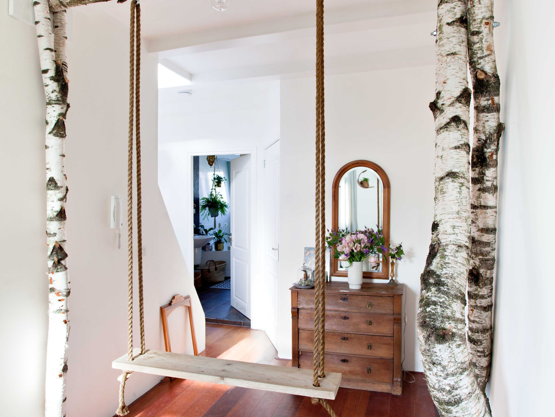 The birch tree swing