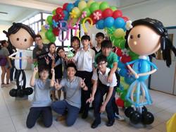 Balloon Class @School