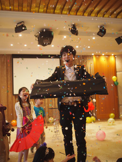 Birthday Party with Magic Memory