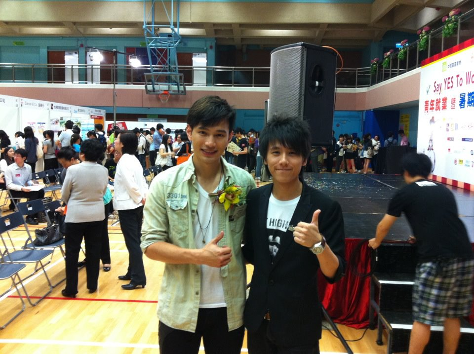 With Singer - Jonathan Wong