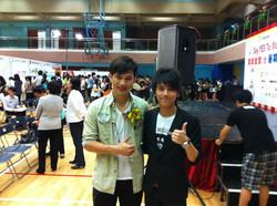 With Singer - Jonathan Wong