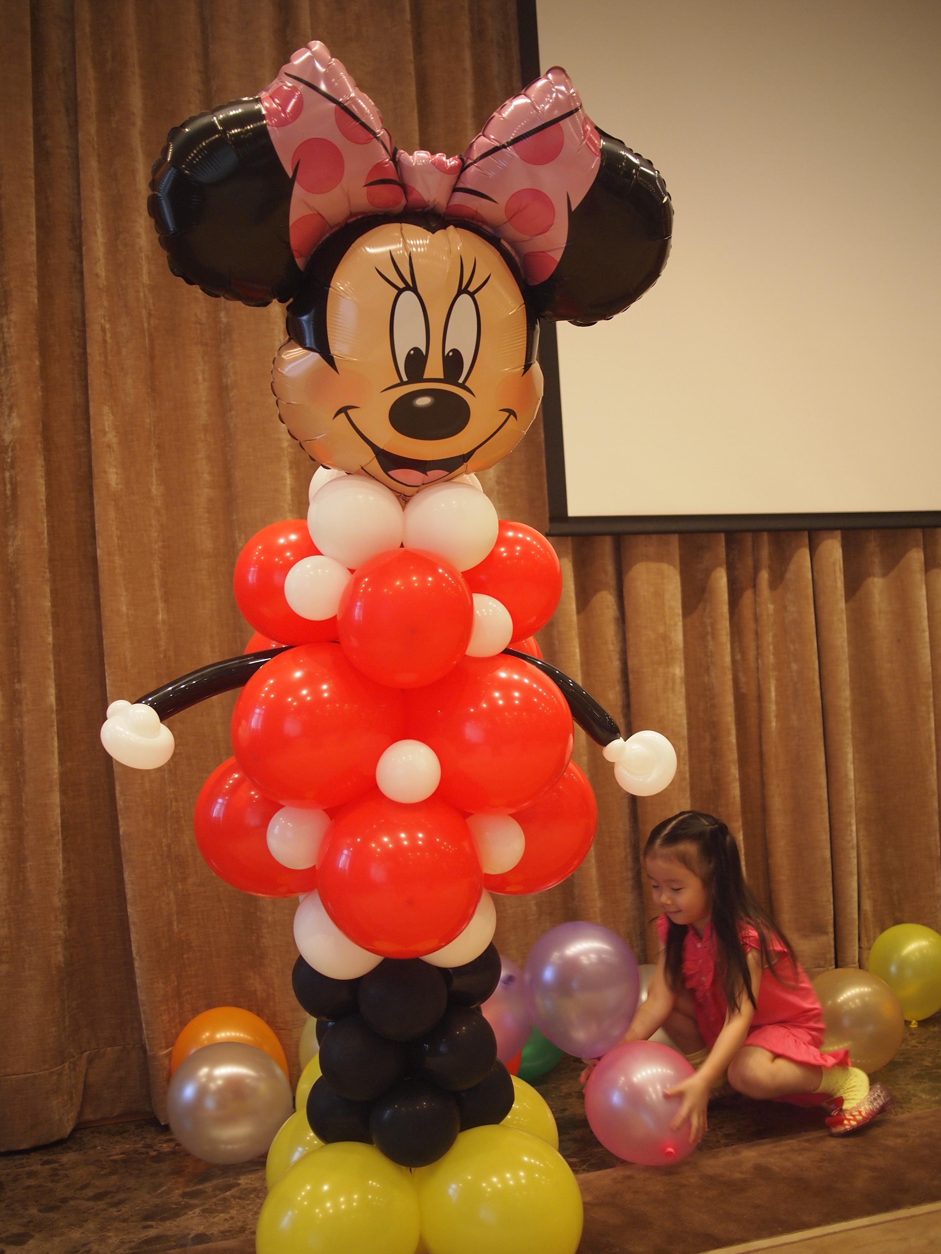 氣球柱(卡通) Balloon Stand (character)