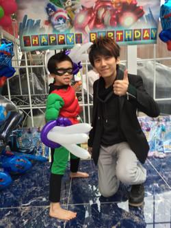 生日夢 | party memory | 生日統籌 | 生日扭氣球 |