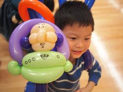 卡通氣球款式無限種可能