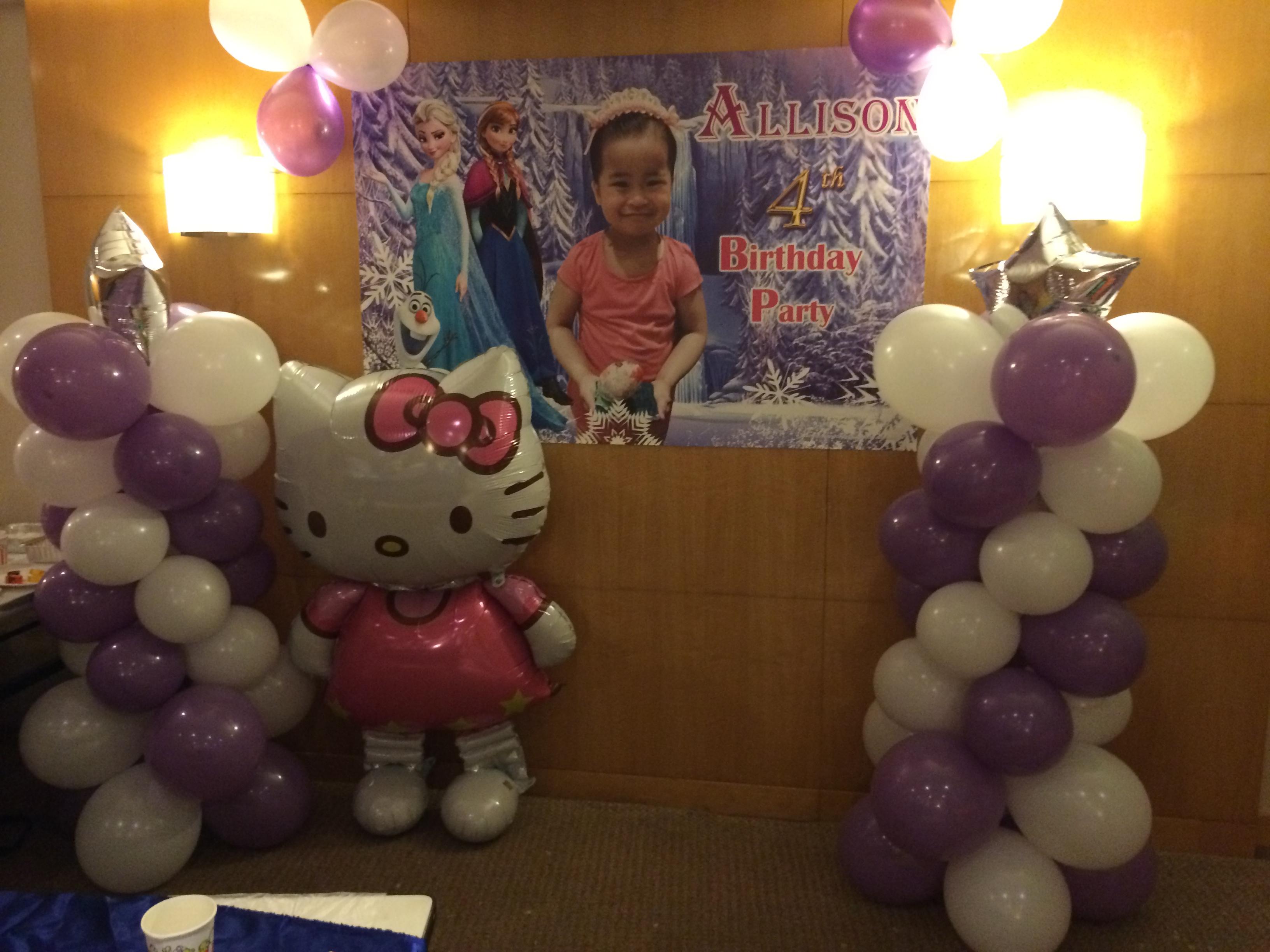 氣球柱 Balloon Stand