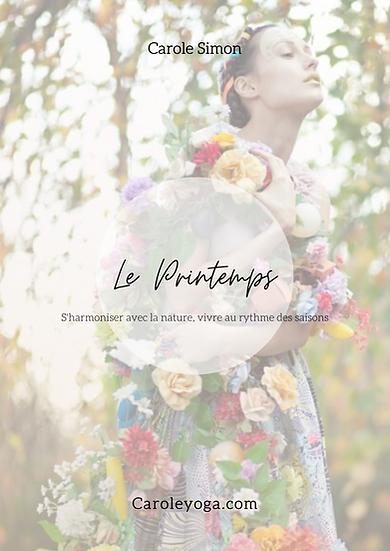 """E-book """"Le printemps"""""""