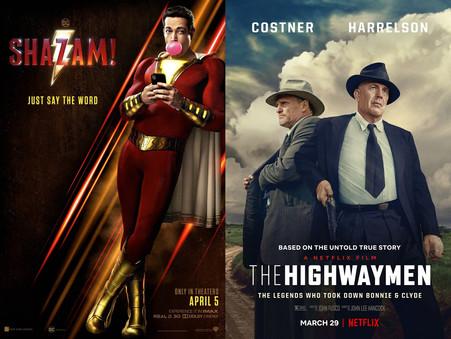 YIN/YANG REVIEWS: Shazam! / The Highwaymen