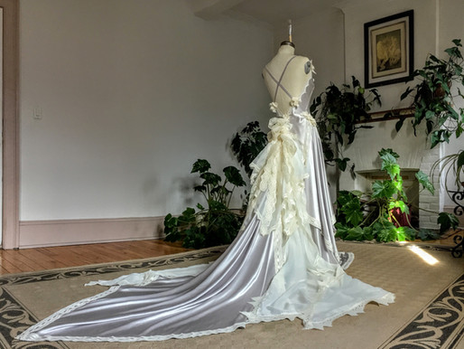 Art Gowns: Mademoiselle Emily