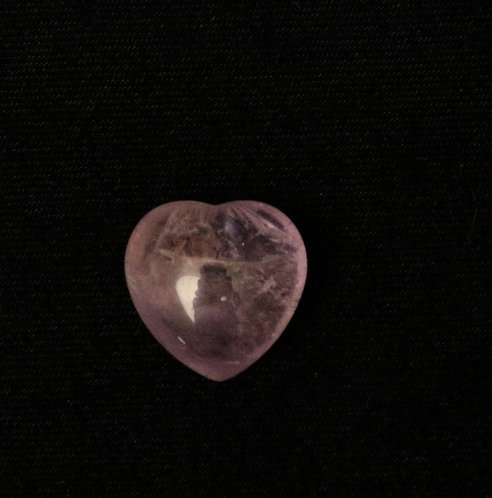 Light Amethyst Heart