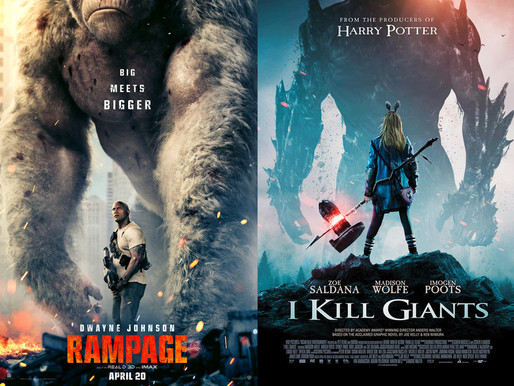 YIN/YANG REVIEWS: Rampage / I Kill Giants