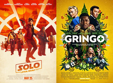 YIN/YANG REVIEWS: Solo: A Star Wars Story / Gringo