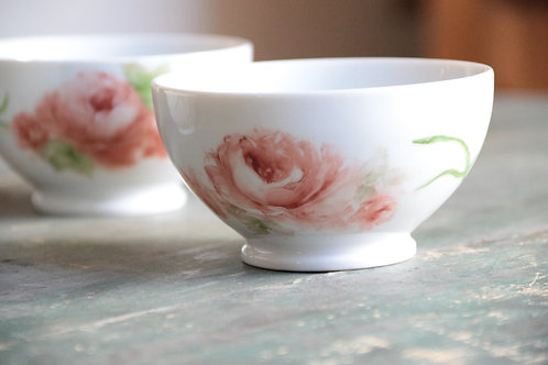 Hand Painted Porcelain Teacups