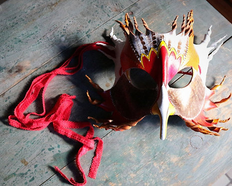 Firebird Mask (Red)