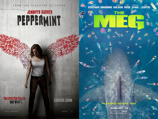 Yin/Yang Reviews: Peppermint / The Meg