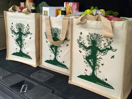Flapper Press Green Marketplace—Butterfly-Bags