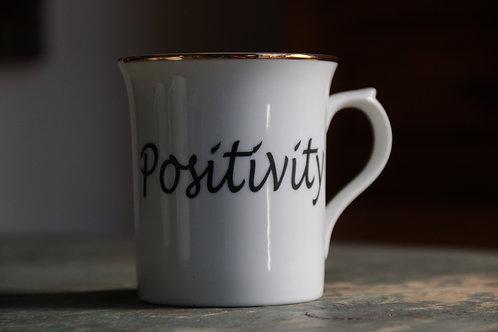 Porcelain Mug 'Positivity'