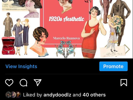 The Feed: @1920aesthetic
