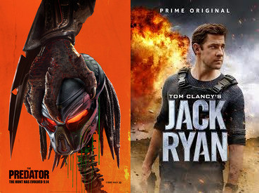 Yin/Yang Reviews: The Predator / Tom Clancy's Jack Ryan