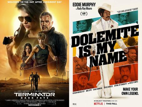 YIN/YANG REVIEWS: Terminator: Dark Fate / Dolemite Is My Name