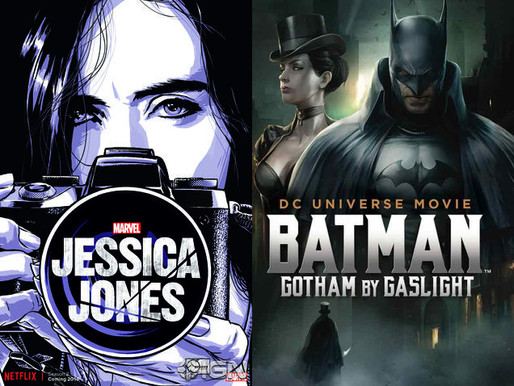 YIN/YANG REVIEWS: Jessica Jones (Season 2) / Batman: Gotham by Gaslight