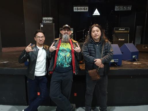 """Korea's Metal Scene through the eyes of a Legend: Coke Finlay, of UK Thrash Metal pioneers """"Virus"""""""