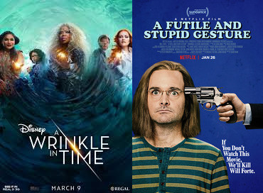 YIN/YANG REVIEWS: A Wrinkle In Time / A Futile and Stupid Gesture