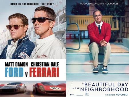 YIN/YANG REVIEWS: Ford v Ferrari / A Beautiful Day in the Neighborhood