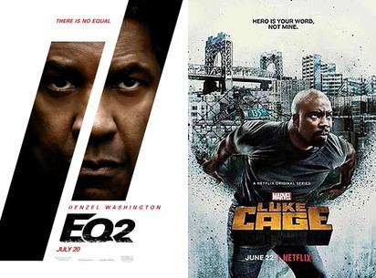 YIN/YANG REVIEWS: Equalizer 2 / Luke Cage (Season 2)