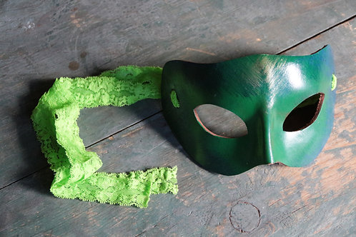 Masquerade Mask (Green)