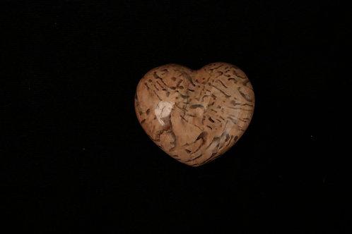 Zebradorite Stone Heart