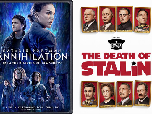 YIN/YANG REVIEWS: Annihilation / Death of Stalin