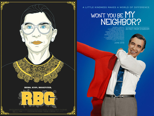 YIN/YANG REVIEWS: RBG / Won't You Be My Neighbor?