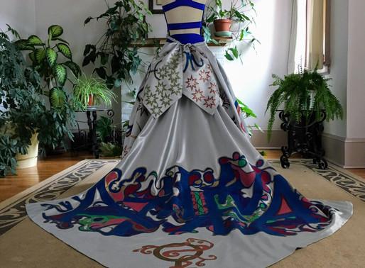 Art Gowns: Athena Graffiti Goddess