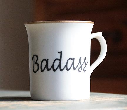Baddass Porcelain Mug