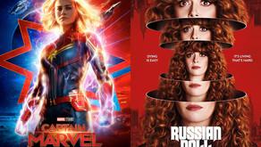 YIN/YANG REVIEWS: Captain Marvel / Russian Doll