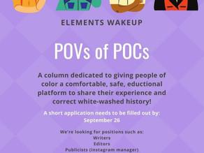 MEET POVs of POCs