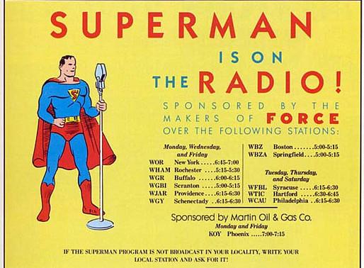 Krypton's Favorite Son Speaks!—The Radio Adventures of Superman
