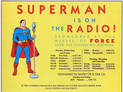 Krypton's Favorite Son Speaks!—The Radio Adventures of Superman