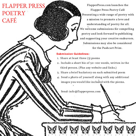 Official Launch: The Flapper Press Poetry Cafe