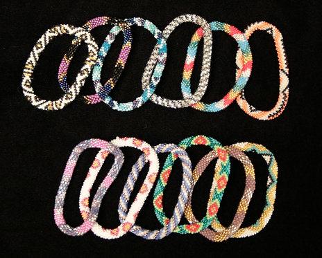 Czech Bead Bracelets