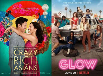 YIN/YANG REVIEWS: Crazy Rich Asians / GLOW (Season 2)