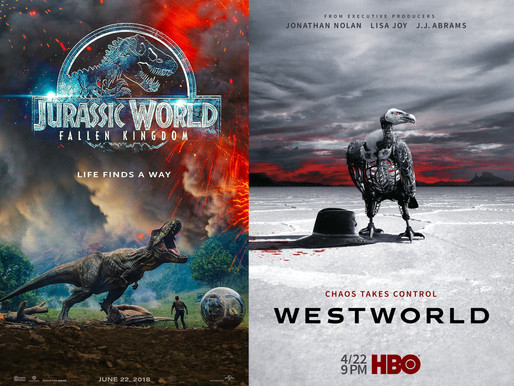 YIN/YANG REVIEWS:  Jurassic World: Fallen Kingdom / Westworld (Season 2)