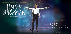 Hugh Jackman AT&T Center 2019