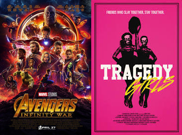 YIN/YANG REVIEWS: Avengers: Infinity War / Tragedy Girls