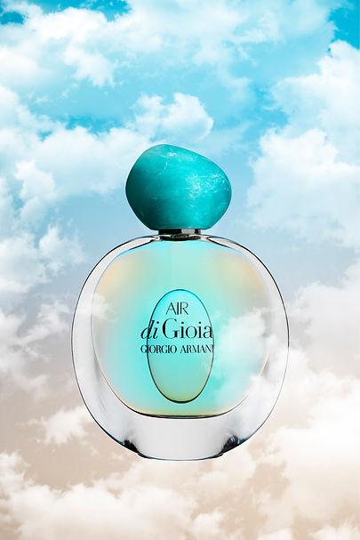Air Di Gioia Georgio Armani parfum clouds perfume turquoise