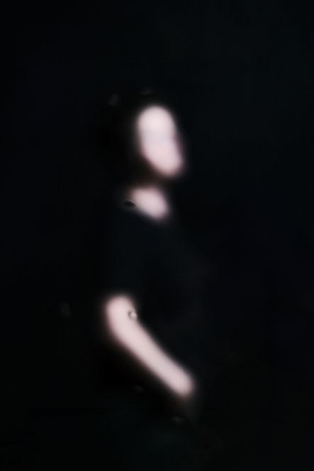 portrait blurry blur rain dark shape slender balance