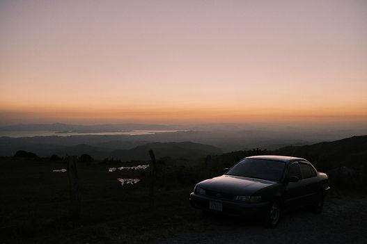 Sunset love costa rica san jose monteverte
