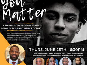 You Matter: Series Kick Off with Former Baltimore Raven and Super Bowl Champion Torrey Smith