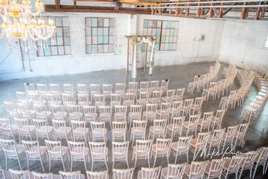 set up at the brick ballroom