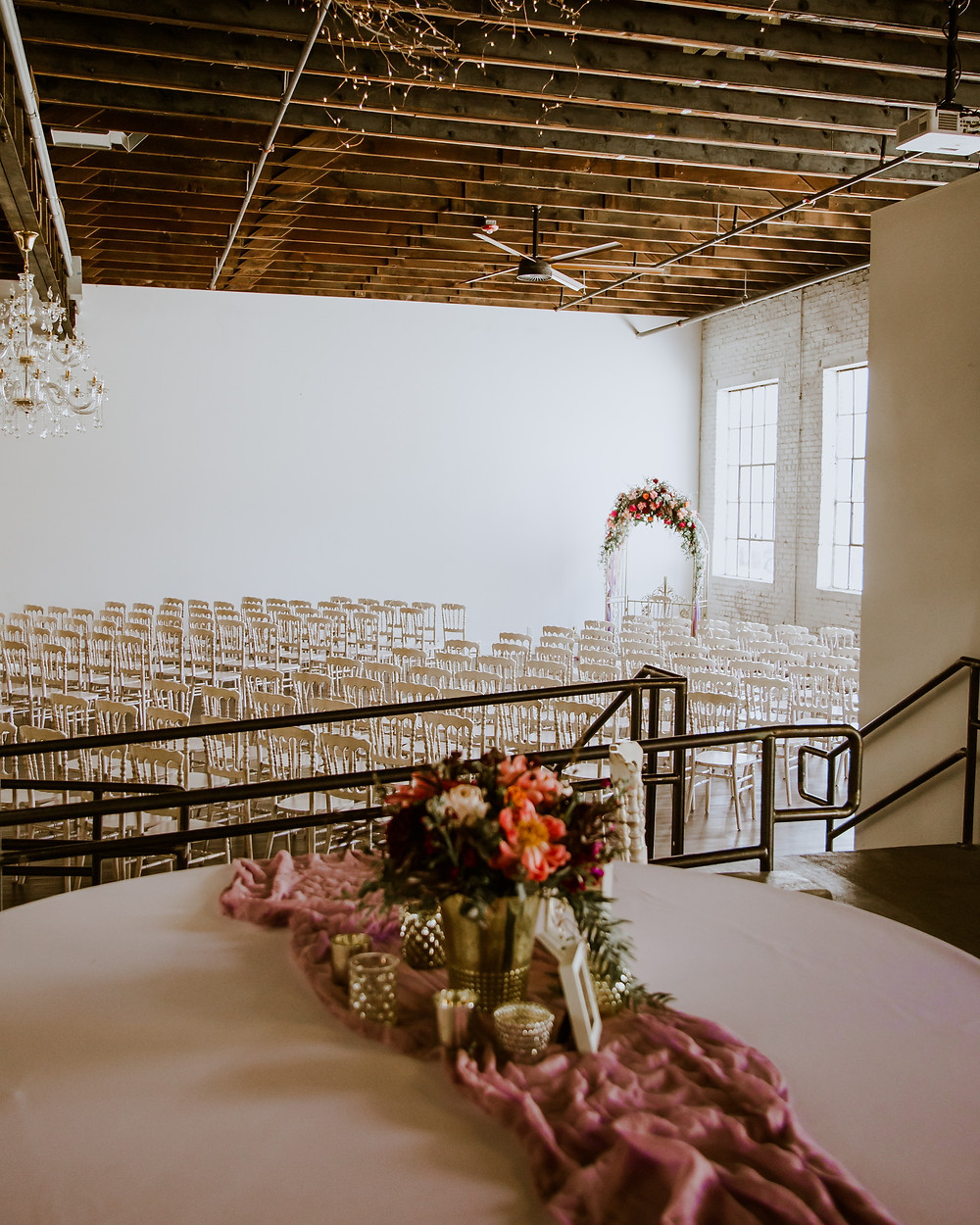 ceremony at the Brick Ballroom